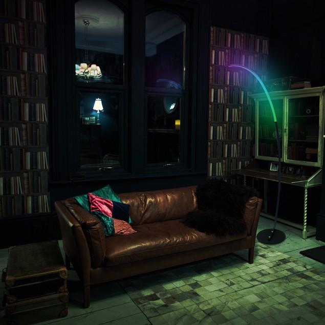 RGB Modern Curve Lamp, Mood Lighting