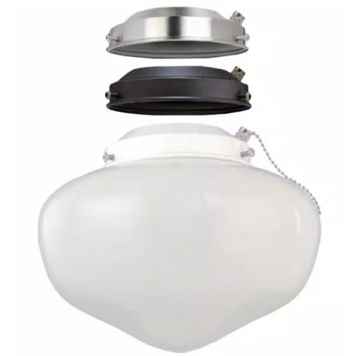 Elite Bright Illumination Ceiling Fan Globe LED Light Kit, Multi-Color