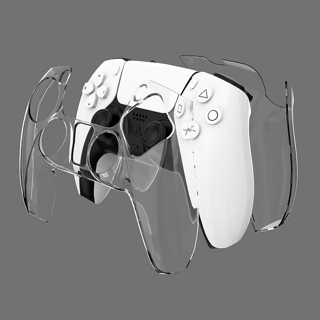PS5 Clear Controller Case - 4 Colors