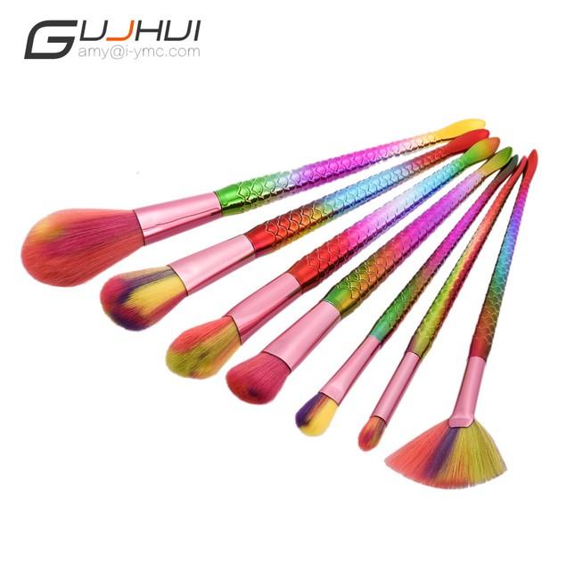 7PCS  Make Up Foundation  Blush Cosmetic Concealer Brushes 91