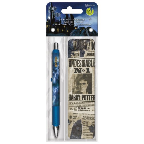 Harry Potter Undesirable No 1 Gel Pen and Bookmark Pack