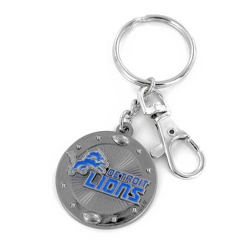 NFL Sports Team Impact Metal Key Ring Keychain