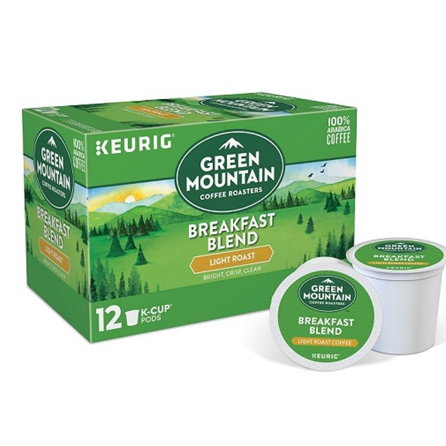 Green Mountain Coffee Breakfast Blend Keurig K-Cups