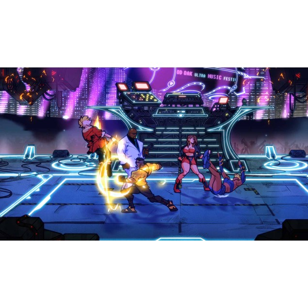 Streets of Rage 4 Xbox One Game