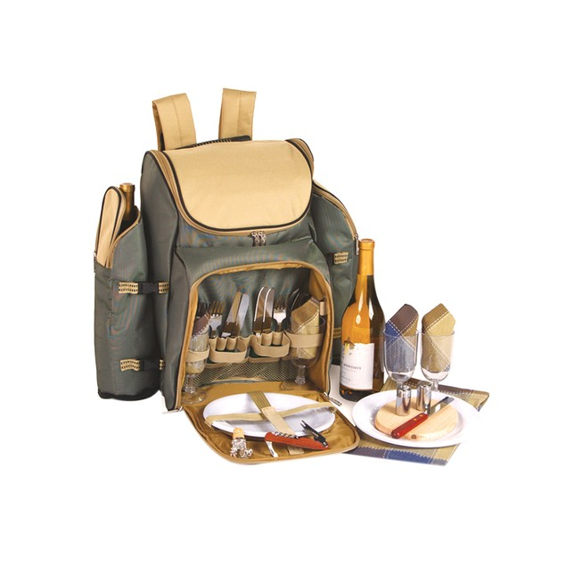 Picnic Plus Tandoor 4 Person Picnic Backpack Sage