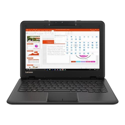 "Lenovo Chromebook 100e 11.6"" 128GB Intel Celeron N3350 Win10,Black"