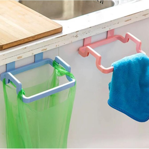 2-Pack Garbage Bag Rack Cabinet
