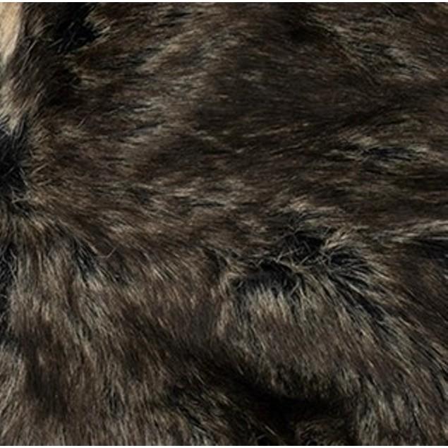Stetson Men's Faux-Fur Trapper Hat  Black Size Large
