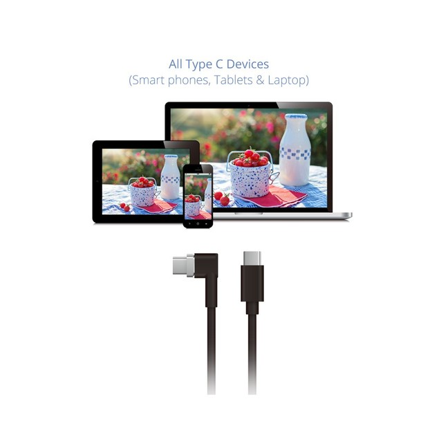 MAGNETIC USB C TO USB C CHARGING CABLE 6 FEET
