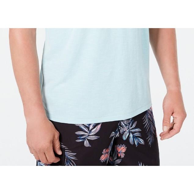 Tommy Bahama Men's Tropicool V-Neck T-Shirt Aqua Size Medium
