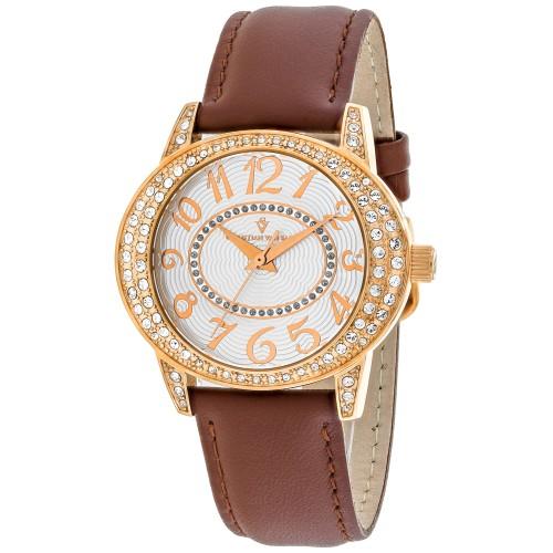Christian Van Sant Women's Sevilla Silver Dial Watch - CV8413