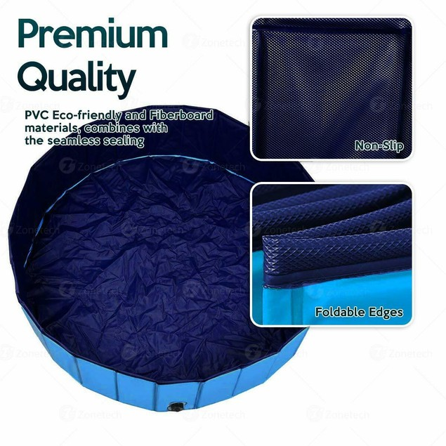 Collapsible Outdoor Portable Pool for Kids & Pets