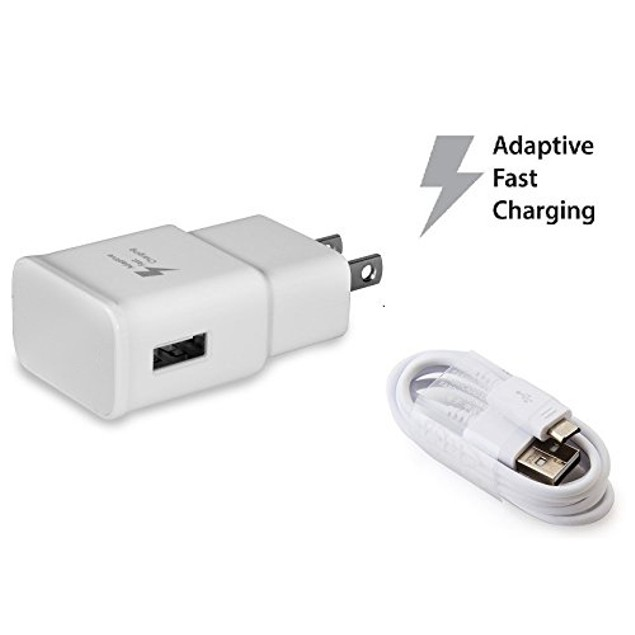 Samsung Fast Charging Adapter Travel Charger White