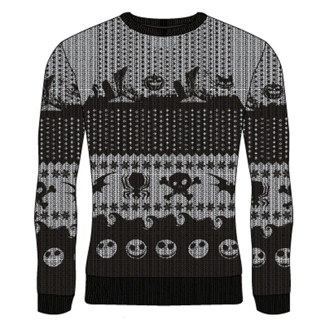 Nightmare Before Christmas - Symbols Unisex Christmas Jumper Medium