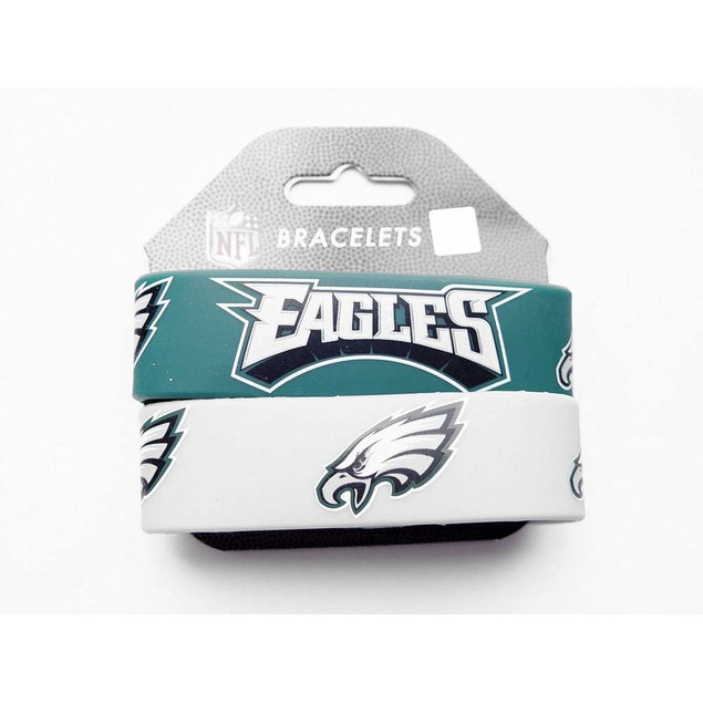 Phil Eagles Wrist Band (Set of 2) NFL