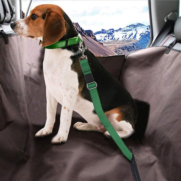 2-Pack Car Seat Belt for Dog and Cat