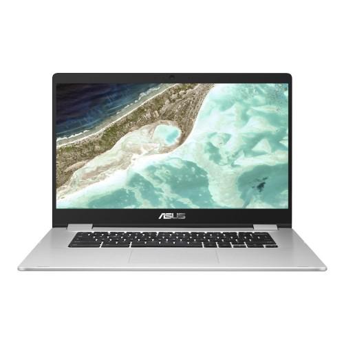 "Asus Chromebook C523NA-C1-CA 15.6"" 32GB Intel Celeron N3350,Silver"