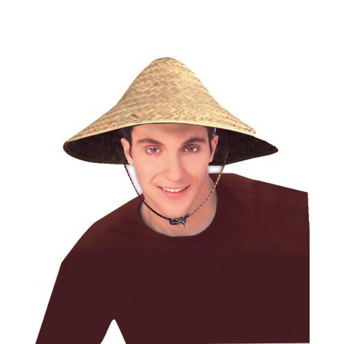 Straw Coolie Hat