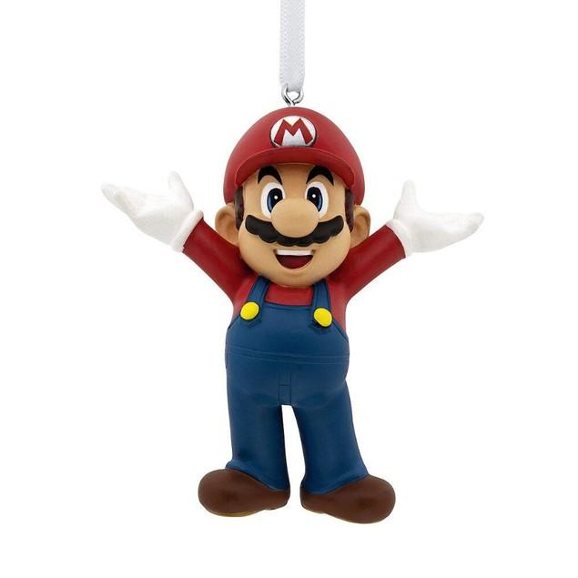 3 Inch Mario Nintendo Resin Ornament