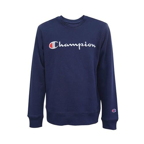 Champion Men's Little Boys Embroidered Logo Sweatshirt Blue Size 6