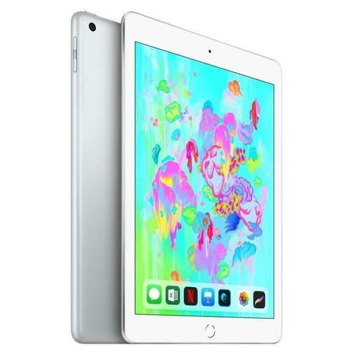 """Apple iPad 6 (6th Gen) - 32GB - Wi-Fi - 9.7"""" - Silver - 2018 - Grade B"""