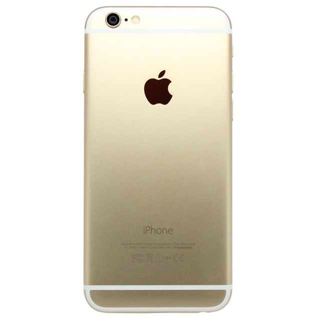 Apple iPhone 6, AT&T, Gold, 64 GB, 4.7 in Screen