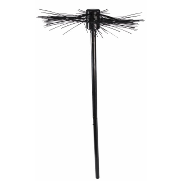 Chimney Sweep Broom Costume Prop Mary Poppins Bert Black Accessory