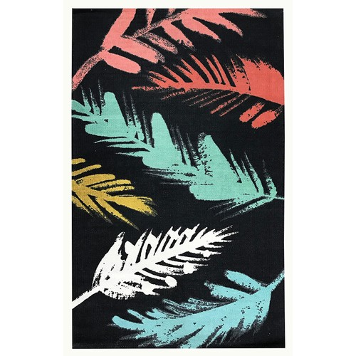 Spura Home Oriental Handmade Floral Leaf Pattern Area Rug 30X47