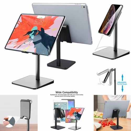 Universal Phone Tablet Stand Adjustable Desktop Holder Mount for iPad