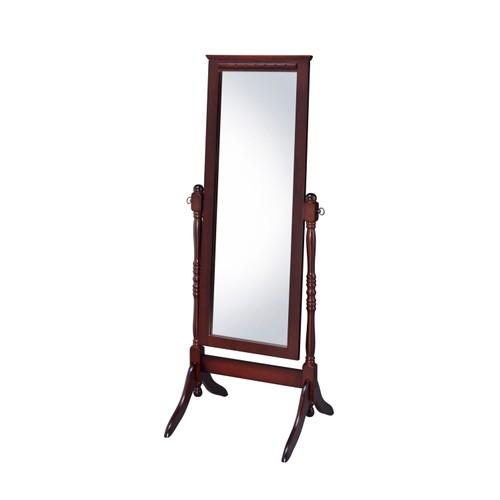 Proman Fairfax Home Living room Bedroom Decor Cheval Floor Mirror, Walnut