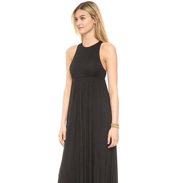 Rachel Pally Women's Anya Dress, Black, SZ Large