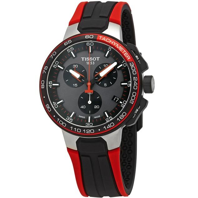 Tissot Men's T-Race Black Dial Watch - T1114172744100