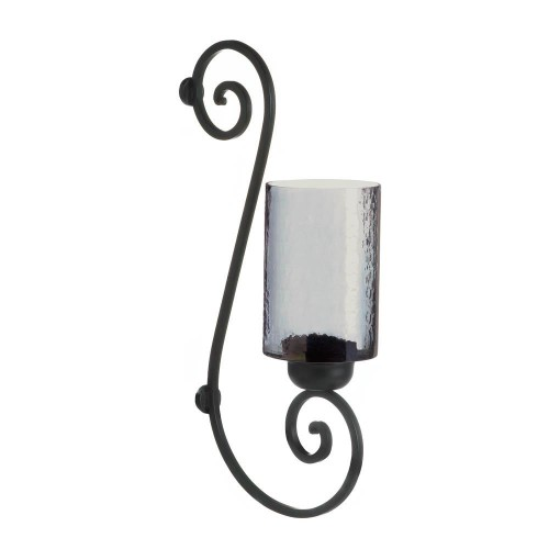 Gallery of Light Smoked Glass Wall Sconce