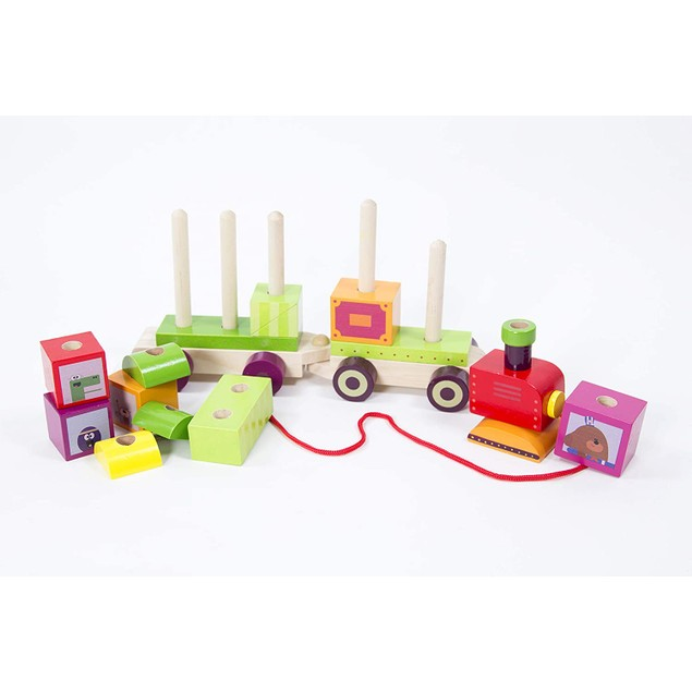 Hey Duggee Stacking Train Pull Along Toy