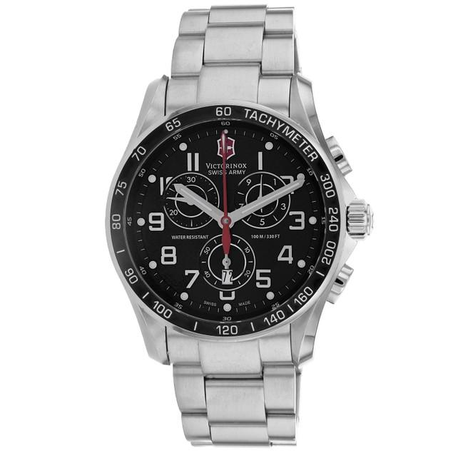 Victorynox Men's Victorinox Black Dial Watch - 241443