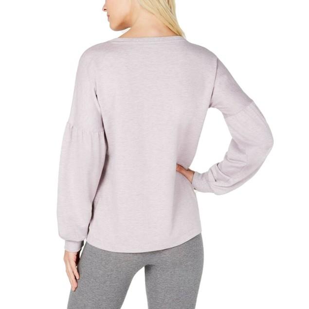 Ideology Women's Flowing-Sleeve Sweatshirt Top Size Large