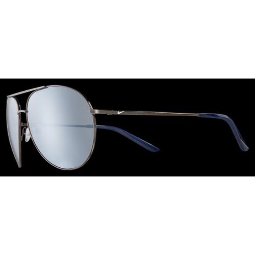 Nike Men Sunglasses NKEV1217 056 Gunmetal 61 14 140 Grey Aviator Mirrored