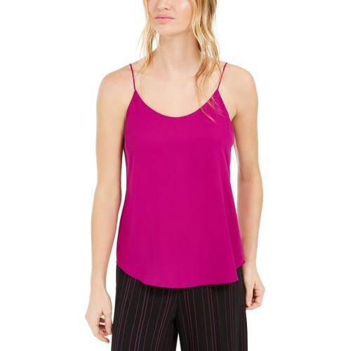 Bar III Women's Scoop-Neck Camisole Pink Size Medium