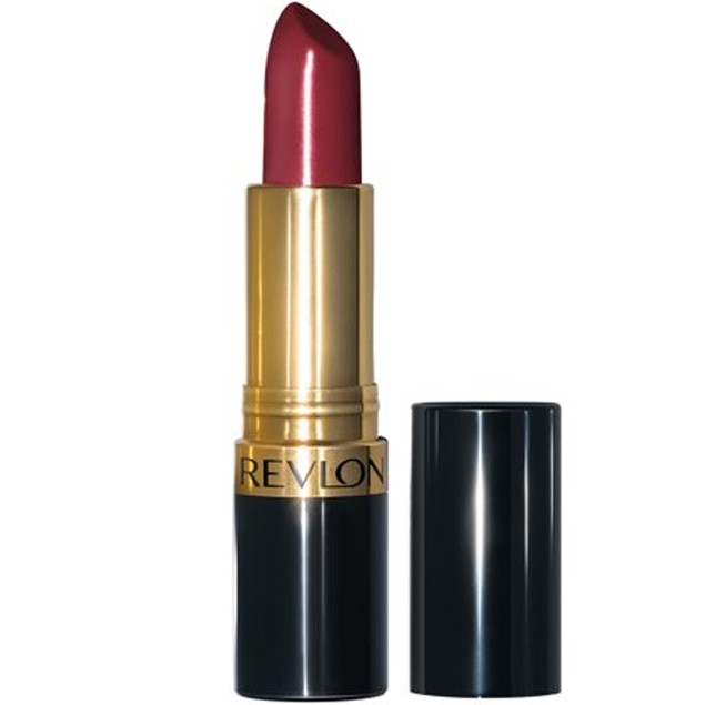 Revlon Super Lustrous Lipstick with Vitamin E and Avocado Oil, Burgundy, 7