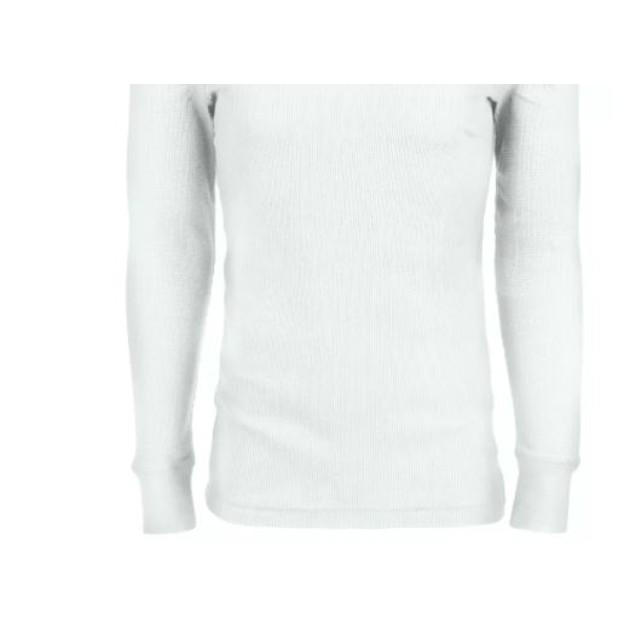 Alfani Men's Thermal Shirt White Size Small