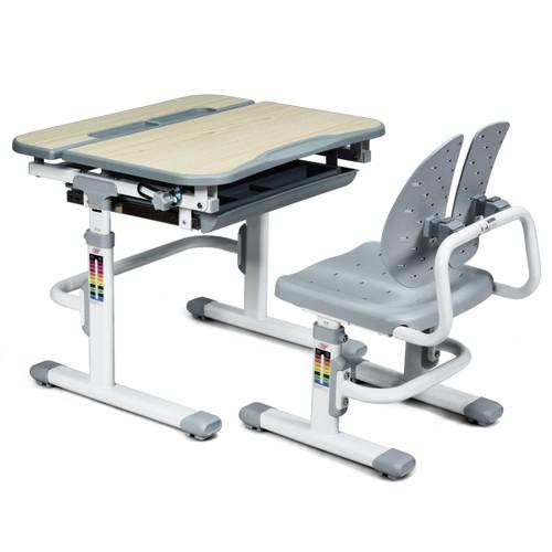 Costway Children Desk Chair Set Adjustable Study Table Drawer
