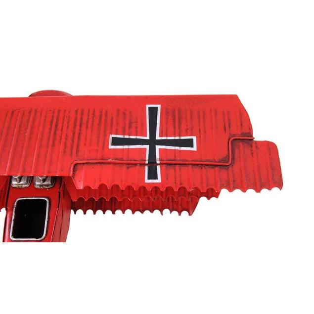 Old Modern Handicrafts Tabletop Decorative 1917 Red Baron Fokker Triplane