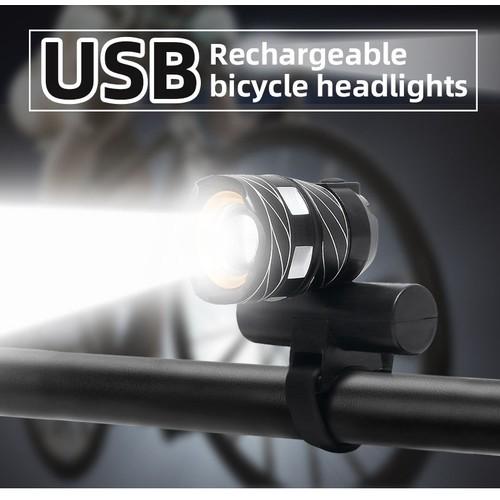 T6 LED MTB Bicycle Light 20000LM XM-L Racing Bike Front Headlight