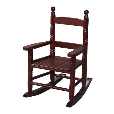 Gift Mark Childs Double Slat Back Rocking Chair- Cherry