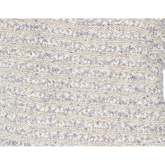 Style & Co Women's Striped Sweater Gray - Size Medium
