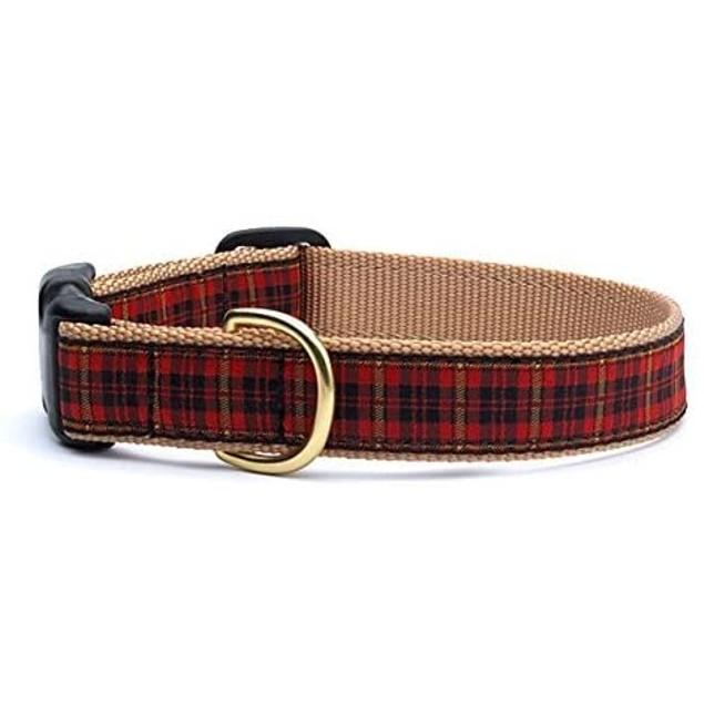 Up Country Fleet Street Plaid Dog Collar