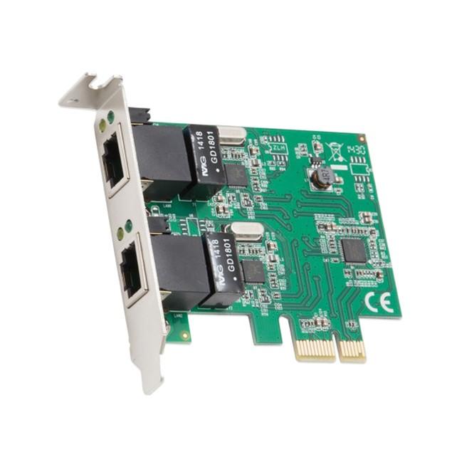 2 Port Gigabit Ethernet PCI-e x1 Network Card