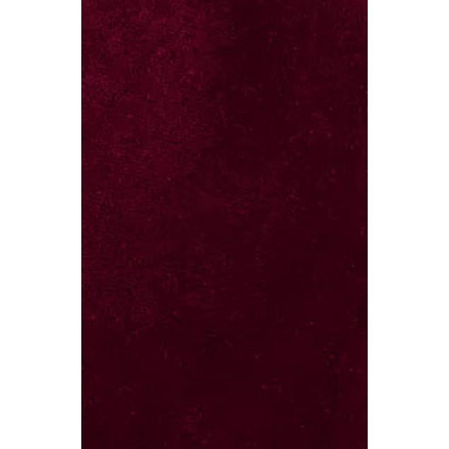 Sean John Men's Classic Solid Velvet Tie Red Size Regular