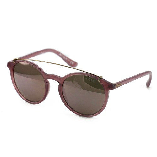 Vogue Women's Sunglasses VO5161S 25355R Pink Clear 51 20 135 Full Rim