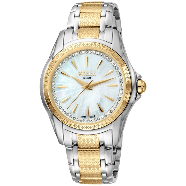 Ferre Milano Women's Classic White Dial Watch - FM1L119M0081